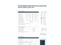 Altius - Model AFM-60-255 Series / 240W - 255W - High Performance Solar Modules Datasheet