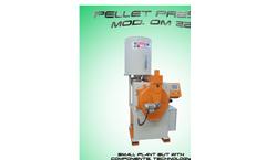 Model OM 22 - Pellet Press Machine  Brochure