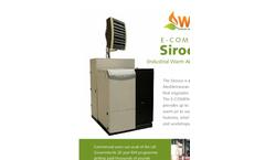 E-COMPACT - Sirocco - Industrial Air Heater Brochure