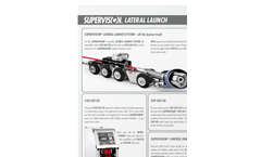 Model SVA SAT150 - Lateral Launch System Brochure