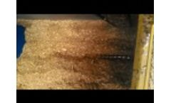 Traveling Auger in Biomass Video