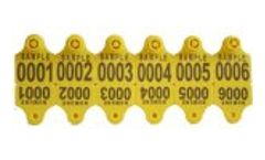 Karetag - Model KRT-KBP 200 - Ear Tags For Sheep Goat Pig and Dog with Plastic Headed
