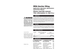 MSA - Anchorage Cable Sling Instruction Manual