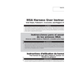 MSA Harness User Instructions Manual