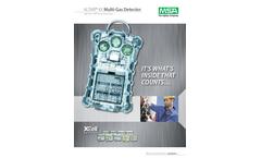 MSA ALTAIR - Model 4X - Multigas Detector - Datasheet