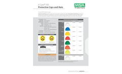 MSA V-Gard - 500 Non-Vented Hard Hat Cap Style - Datasheet