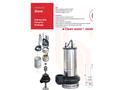 DRENO - Model R - Submersible Electric Pumps