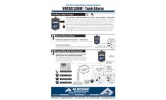 Versalarm - Septic Tank Alarm/Holding Tank Alarm Datasheet