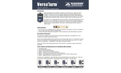 Versalarm - Septic Tank Alarm/Holding Tank Alarm Manual