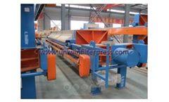 Uniwin - Model FP 100/1000 - Hydraulic Compress Filter Press
