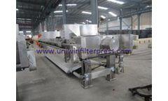 Uniwin - Model XMY 100/1000-30U - 304/316L Stainless Steel Filter Press
