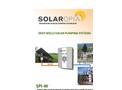 Solaropia - Model SPI-W Class - Solar Deep Wells Pumping Systems - Brochure
