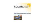 Solaropia - Model S-RO R - Solar Recycle Plants -