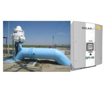 Solaropia - Model SPI-W Class - Solar Deep Wells Pumping Systems