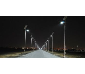 Solar Roadway Lighting - Masdar City - Energy - Solar Power