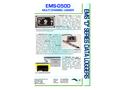 EDS - Model EMS-050D - Multi Channel Data Logger - Datasheet