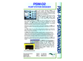 EDS - Model PSM-02 - Pump Station Manager (PSM) - Datasheet