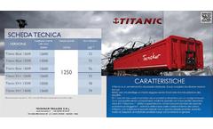 Titanic - Model EV-1 - Twin Side Semi Trailer Brochure