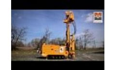 MI3, fully radio remote drilling rig for geotechnical investigations and small water wells Video