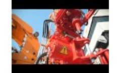 MULTIPURPOSE DRILLING RIG MI20 for WATER WELLS and MINERAL EXPLORATION Video