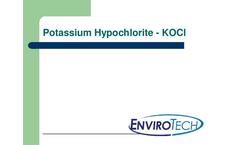 Enviro Klor - Potassium Hypochlorite Brochure