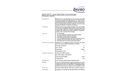 Reflex - Acid Sanitizer Concentrate Datasheet