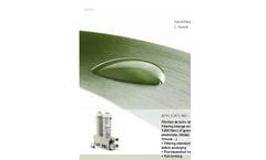 Siebec - Model L Series - Filter Brochure