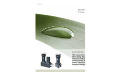 Siebec - Model S Series - Filter Brochure