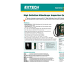 Extech - Model HDV610 - High Definition VideoScope Kit with HDV600 Monitor and 5.5mm Flexible Probe
