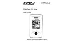 Extech - Model EMF450 - Multi-Field EMF Meter - Manual
