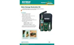 Extech - Model MO280-KW - Water Damage Restoration Kit - Brochure