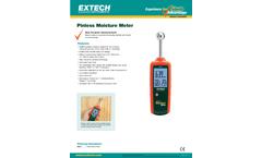 Extech - Model MO257 - Pinless Moisture Meter - Datasheet
