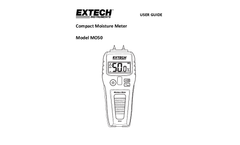 Extech - Model MO50 - Compact Pin Moisture Meter - Manual
