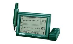 Extech - Model RH520A-220 - Humidity+Temperature Chart Recorder with Detachable Probe (220V