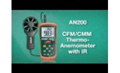 Extech AN200 Product Information - Video