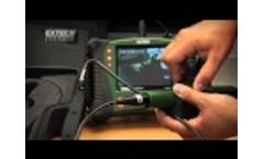Extech HDV600 High Definition VideoScope Inspection Camera Product - Video