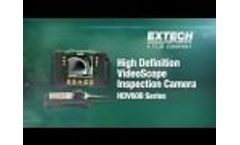 Introducing the Extech HDV600 High Definition VideoScope Inspection Camera - Video
