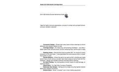 Model ZLR-1200 - Double Cartridge Mechanical Seals Datasheet