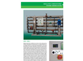 Model 4RE and 8RE - Reverse Osmosis System - Brochure