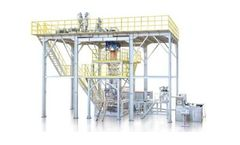 Model RBMX3 - Plastic Extrusion - Three-layer Coextrusion Water Quench Blown Film Line