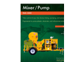 Model RMX-5000 - Ultra High-Pressure 3-Inch Swing Tube Mixer/Pump– Brochure