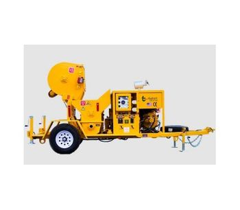 Model RMX-5000 - Ultra High-Pressure 3-Inch Swing Tube Mixer/Pump