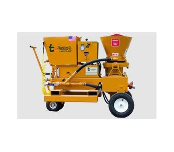 Model HRG-020 - Hydrostatic Rotary Gunite Machine