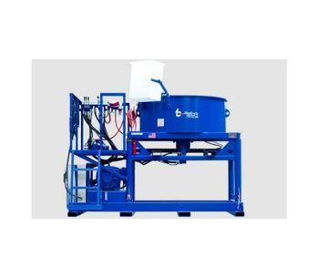 Model 2200 lb - Hydrostatic Pan Mixer