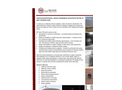 Concrete Tank Services Retrofit Brochure