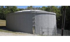 DN Tanks - Model EQ, CSO, SSO - Prestressed Concrete Equalization Storage Tanks