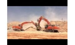 The Inexhaustible Power of the BF135.8 and the MB-S18 in a Big Quarry in Saudi Arabia Video