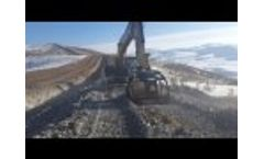 13 Screening Buckets MB-S18 S3 are Working for the Caucasus Pipeline Project Video