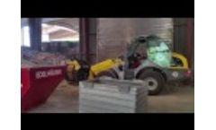 MB-LS170 Screening Bucket Working in Germany Video