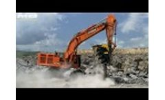 Thinking big! The BF150.10 Crushes Basalt in the Quarry in Armenia Video